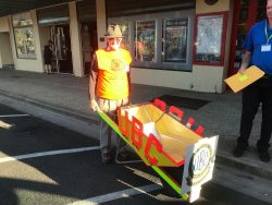 Clem 50th Wheelbarrow push