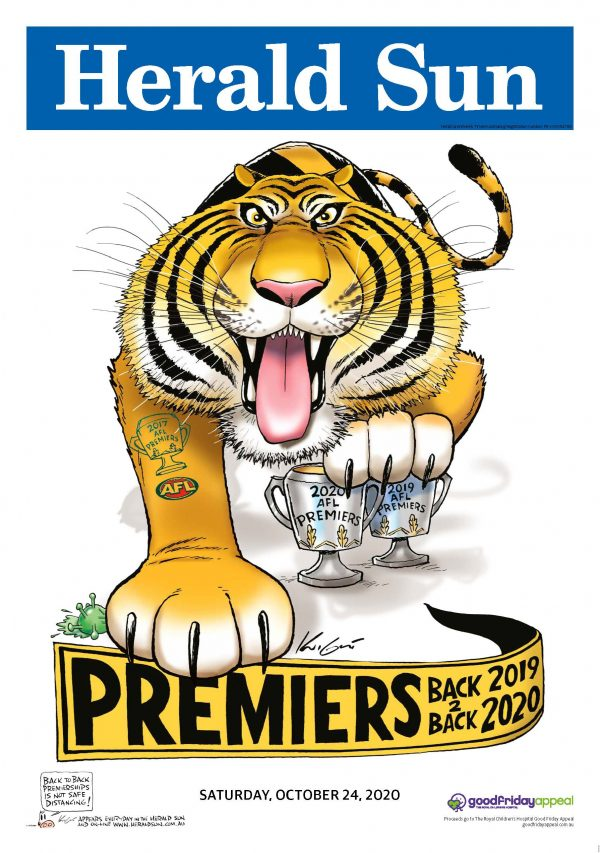 2020 Richmond Premiership Poster